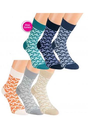 "11904- Dámske bavlnené ponožky ""SCHIFFE"" - 3 páry/bal."
