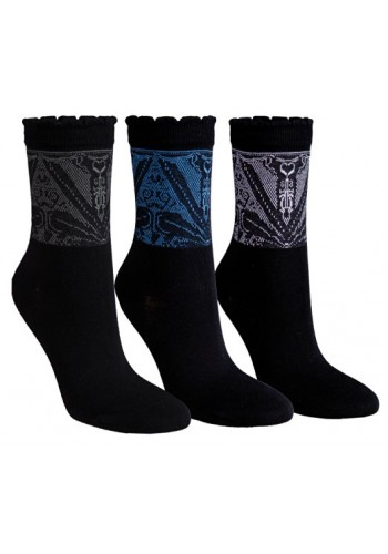 """11978 - A - Dámske vzorované ponožky """"AVANTGARDE"""""""