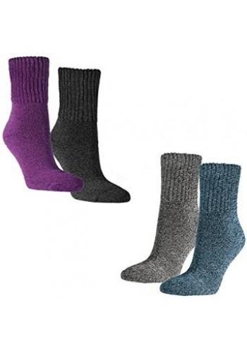 """12778-N - Dámske pohodlné bavlnené ponožky""""EXTRA SOFT"""" - 2 páry/bal."""