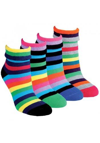 "12790-Dámske thermo ponožky ""SOFT STREIFEN"" - 2 páry/bal."