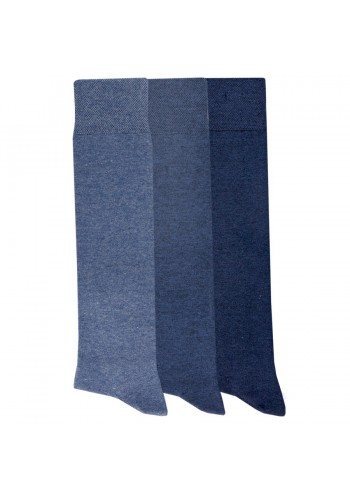 """13002- Dámske bavlnené podkolienky """"JEANS""""- 3 páry/bal."""