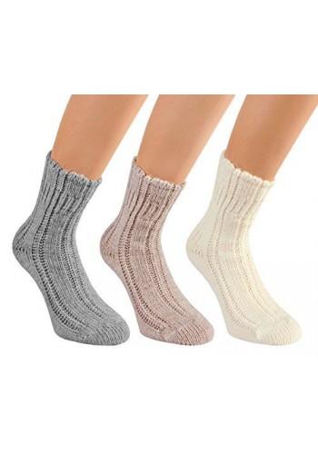 """14432- Dámske teplé vlnené ponožky """"BETTSOCKE""""- 2 páry/bal."""