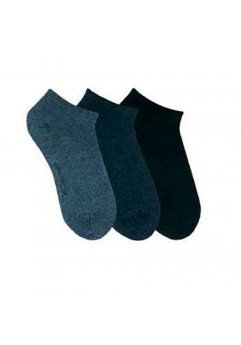 """15298- Dámske elastické ťapky """"JEANS"""" - 3 páry/bal."""