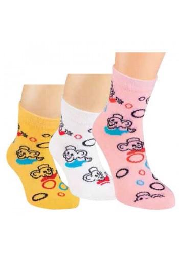 """20849- Detské ponožky """"MAUS"""" - 3 páry/bal."""