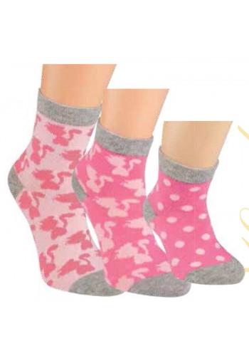 """20850- Detské ponožky """"KATZE""""- 3 páry/bal."""