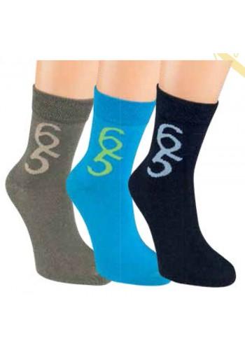 """20853- Detské ponožky """"NUMMER 6/5"""" - 3 páry/bal."""