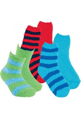 """22112- Detské plyšové ponožky """"FARBTOPF"""" - 2 páry/bal."""