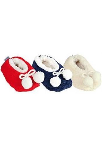 """24607- Detské ponožkové papuče """"FELL OPTIK"""" - 1 pár"""
