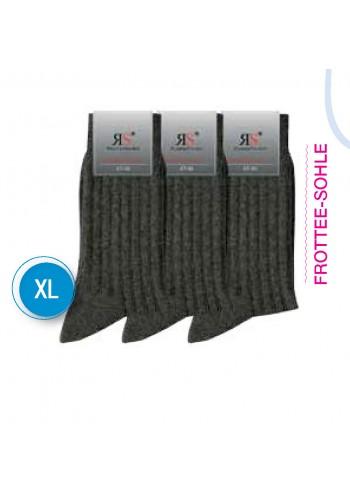 31045- Pánske bavlnené ponožky XL - extra robustné (47/50) - 3 páry/bal.