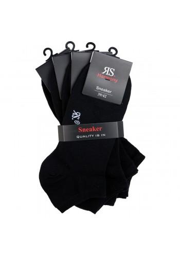 """31050- Pánske elastické ťapky XL """"SCHWARZ"""" - 4 páry/bal."""