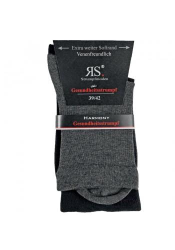 """31120- Pánske bavlnené zdravotné ponožky SORBTEK """"GANZ OHNE GUMMI"""" - 2 páry/bal."""