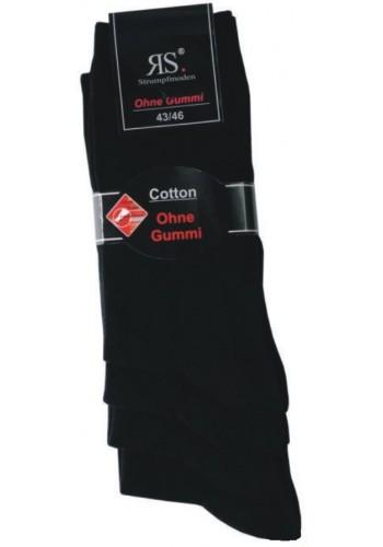 """31188- Pánske bavlnené elastické zdravotné ponožky """"SCHWARZ"""" - 4 páry/bal."""