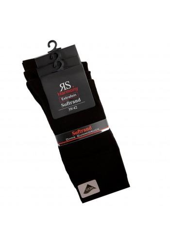 """31195- Pánske bavlnené zdravotné ponožky """"SCHWARZ""""  - 3 páry/bal."""
