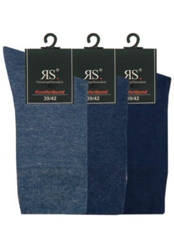 """31215- Pánske bavlnené zdravotné ponožky """"JEANSTÖNE"""" - 3 páry/bal."""