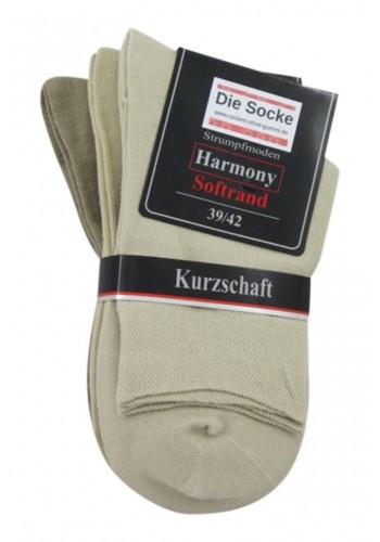 """32032- Pánske bavlnené zdravotné skrátené ponožky """"LIGHT"""" - 3 páry/bal."""