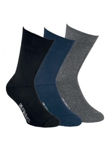 """32034- Pánske wellness ponožky s froté chodidlom """"DUNKEL"""" - 2 páry/bal."""