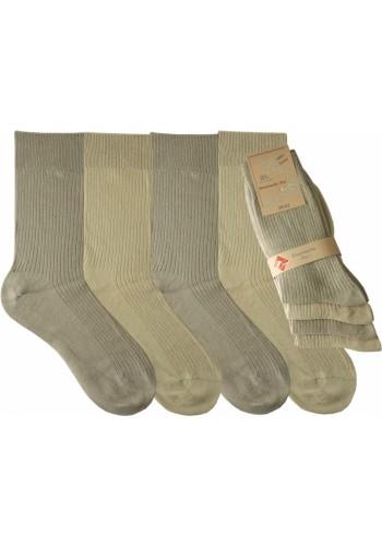 """32520- Pánske 100% bavlnené ponožky """"HELL""""- 4 páry/bal."""