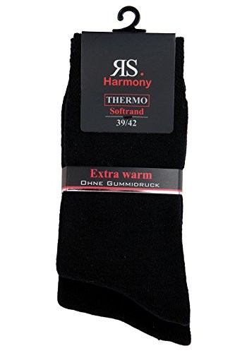 """32770- Pánske bavlnené extra termo ponožky """"SCHWARZ"""" - 2 páry/bal."""