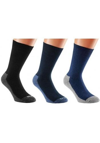 32969- Pánské wellness funkčné ponožky s froté chodidlom - 2 páry/bal.
