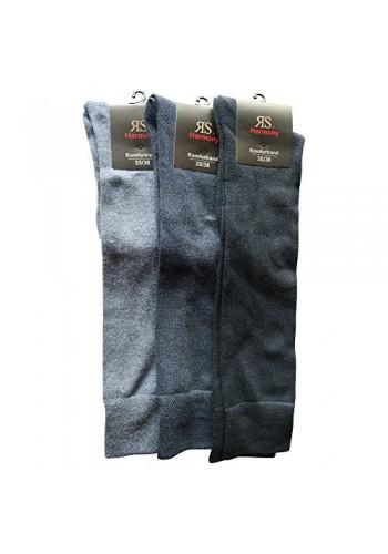 """33011- Pánske bavlnené podkolienky """"SILBER"""" - 3 páry/bal."""