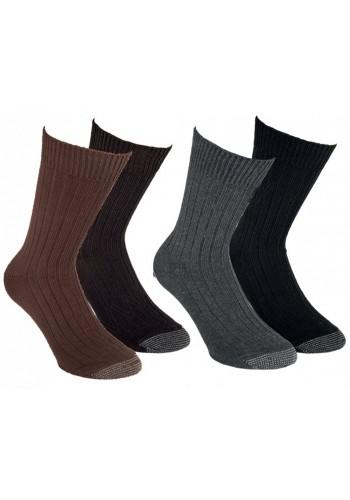 """33359- Pánske vysoko kvalitné bavlnené ponožky """"DICKE QUALITAT"""" - 2 páry/bal."""