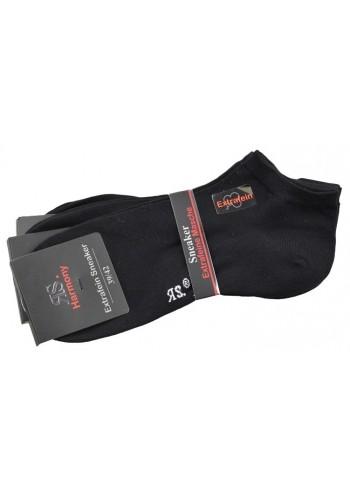 "35012- Pánske bavlnené ťapky ""SCHWARZ"" - 3 páry/bal."