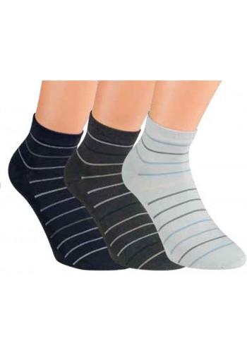 """35168- Pánske bavlnené členkové ponožky """"GRANIT"""" - 3 páry/bal."""