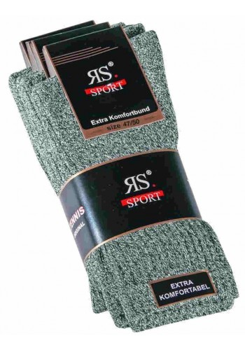 "39017- Pánske bavlnené tenisové ponožky ""MELANGE"" - 4 páry/bal."