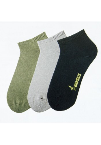 """43029-S - Bambusové kotníkové ponožky Sorbtek """"BAMBUS"""" 3 - 3 páry/bal."""