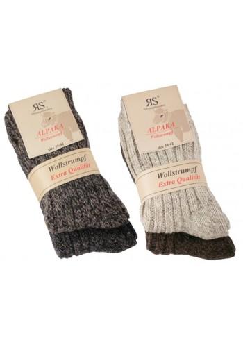 "43350- Unisex vlnené ponožky Alpaka ""NATUR PURE"" - 2 páry/bal."