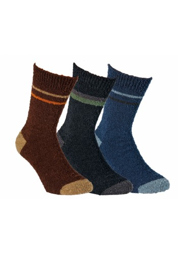 43353- Vlnené ponožky unisex - 2 páry/bal.
