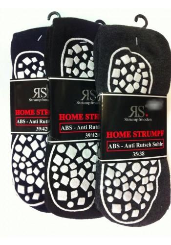 44440- Domáce ponožky s gumenou podrážkou - 1 pár