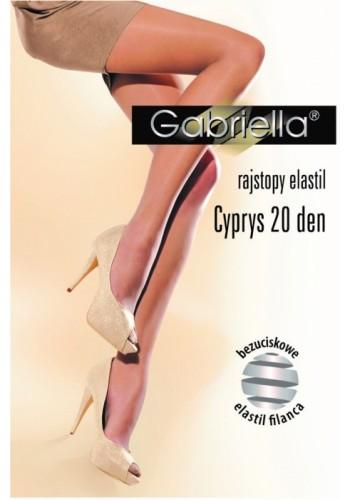 Cyprys-elastil pančuchové nohavice 20den