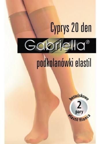 Cyprys-podkolienky elastil 20 den, 2párové
