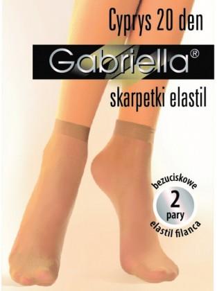 Cyprys-ponožky elastil , 2párové